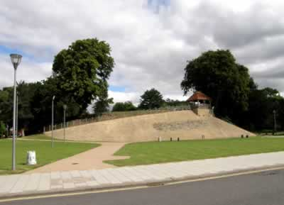 Image result for bedford castle mound and embarankgardens