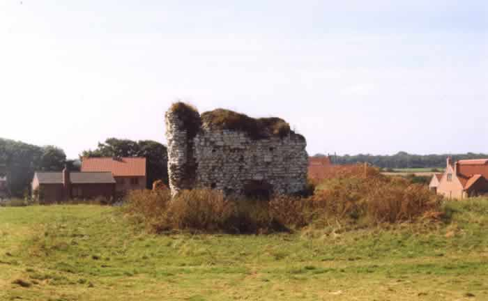 Catherine Cumberworth, Marmaduke Constable, Castle